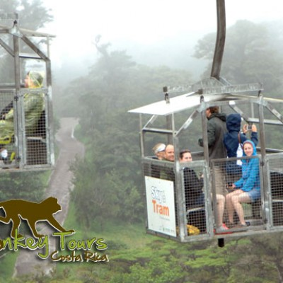 Sky tram in Monteverde Cloud Forest