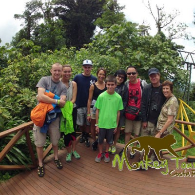 Group travel with Monkey Tours