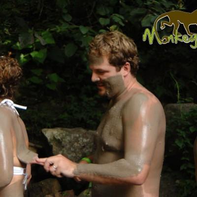 enjoy mud bath