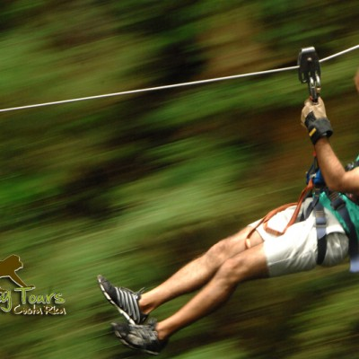 discover costa rica enjoy zipline