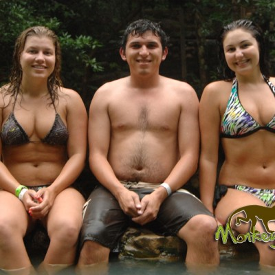 guide tour and tourist hot spring