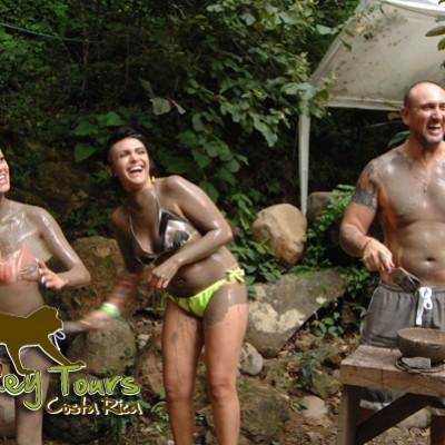 guachipelin mud bath and hot spring