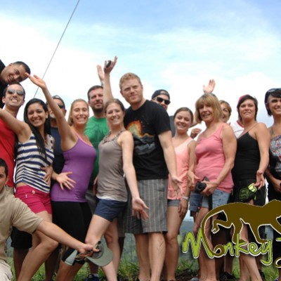 Big Tour Groups with Costa Rica Monkey Tours