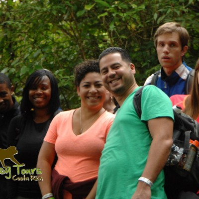 Couple tours with Costa Rica Monkey Tours during the summer