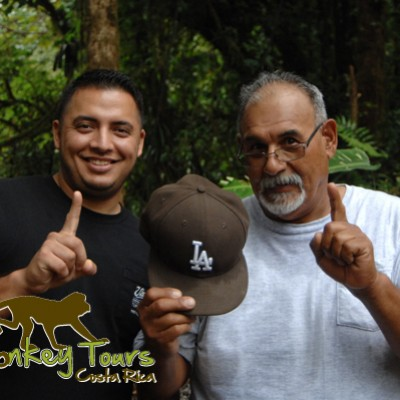 Thumbs up with Costa Rica Monkey Tours