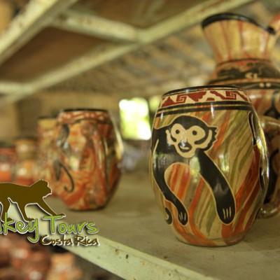 Ceramic designs finished, pottery store costa rica
