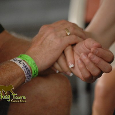Holding hands in Costa Rica