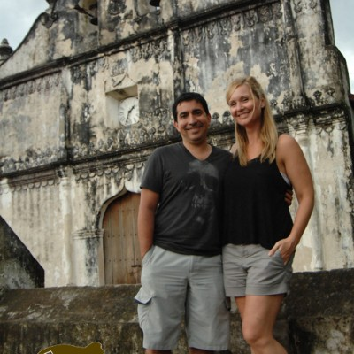Church in Nicoya with your couple