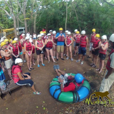 Costa Rica Adventure Group Tubing
