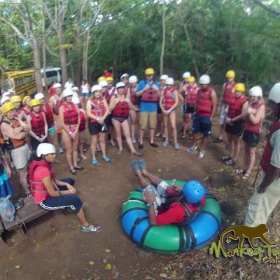 Costa Rica Adventure Group Tubing