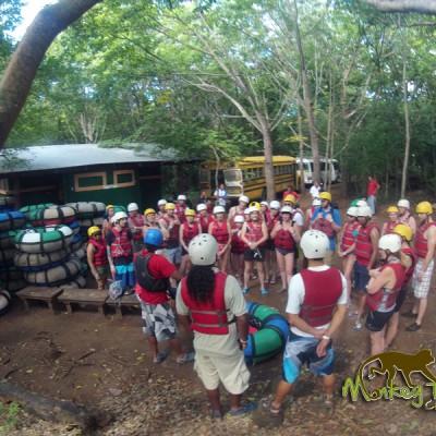 Adventure Group in Costa Rica