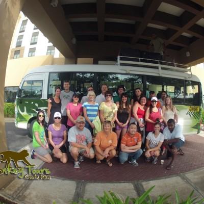 Group Costa Rica Monkey Tours