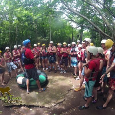 Tubing Adventure in Costa Rica