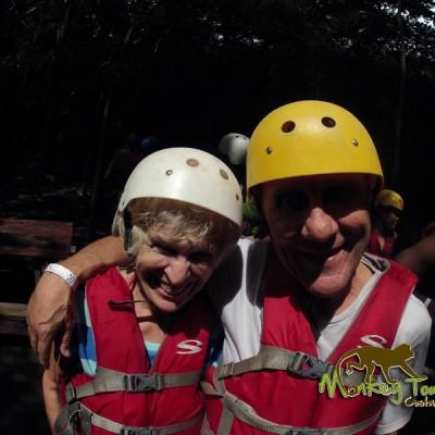 Tourists Costa Rica Monkey Tours