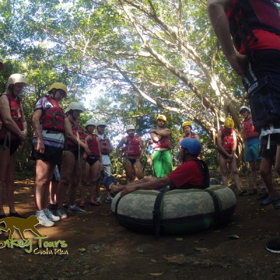 Tubing Adventure in Costa Rica with Monkey Tours