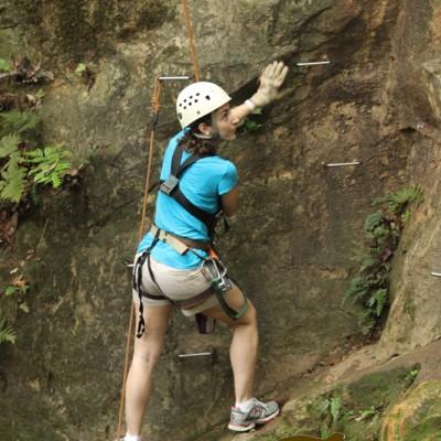 Climbing in costa rica