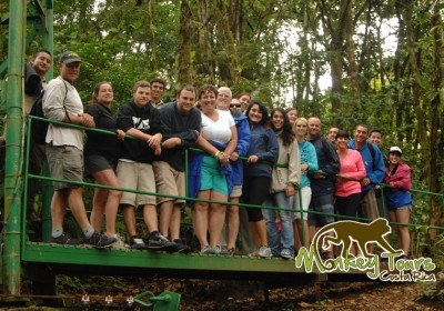 Green Travel group monteverde