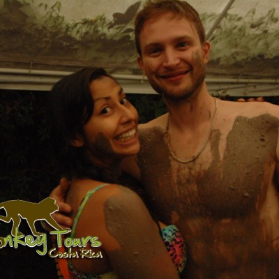 Mud Adventure, skin benefits with Costa Rica Monkey Tours
