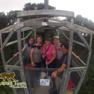 Monkey Group in Sky Tram