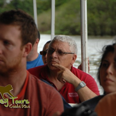 Boat Safari tour down the river