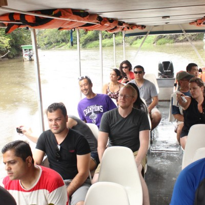 Tour Group in the Palo Verde Boat Tour