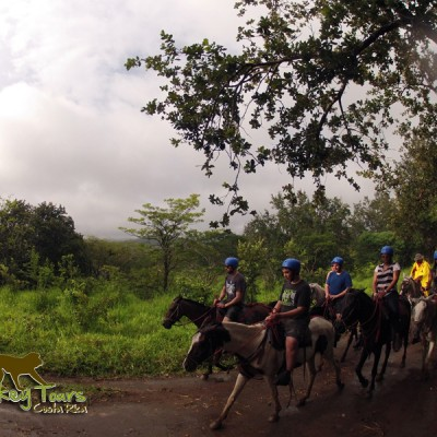 Riding in Guachipelin
