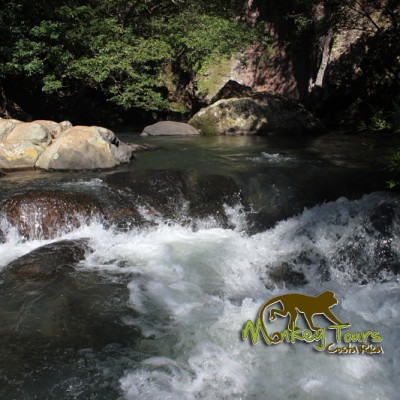 River in Costa Rica trip