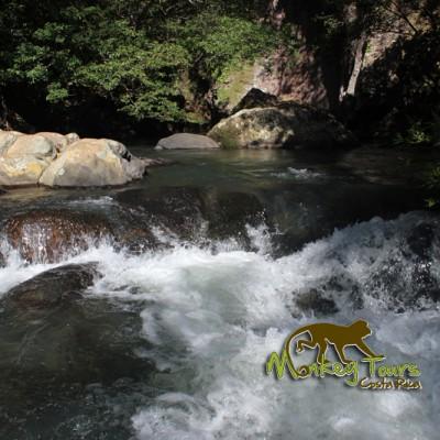 River in Costa Rica trip