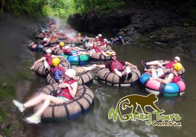 Tubing in Guanacaste Costa Rica