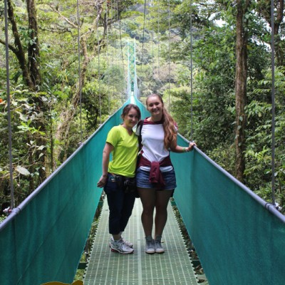 hanging bridges, time for a photo