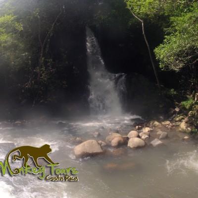 Beautiful waterfalls in Costa Rica