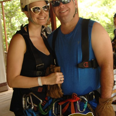 Zipline Couple