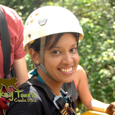 Experience the adventure zip line with Costa Rica Monkey Tours