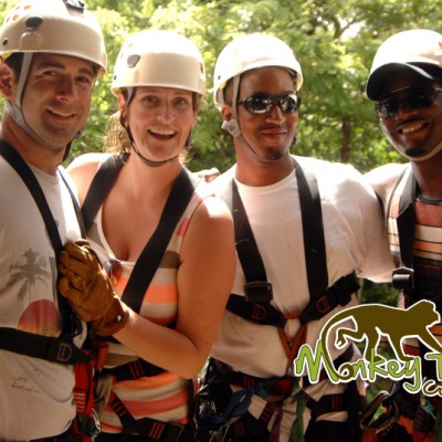 Jungle Zipline? Im there with Costa Rica Monkey Tours