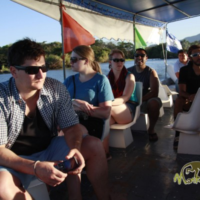 Boat trip in nicaragua