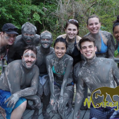 Mudbath fun picture