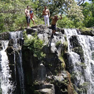 Llano del cortes jumping picture