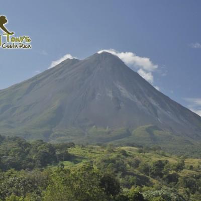 Active Volcano, Costa Rica, Central America