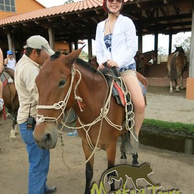 horse trip girl