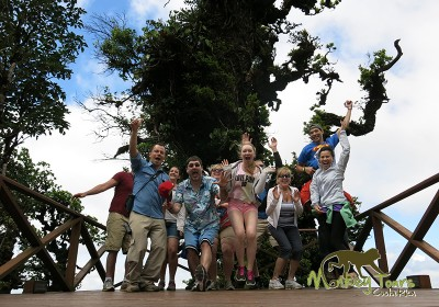 Monteverde jumping experience