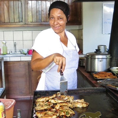Cooking in costa rica