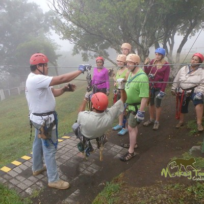 Weather will not stop Monkey Tours