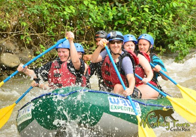 exciting rafting in arenal costa rica