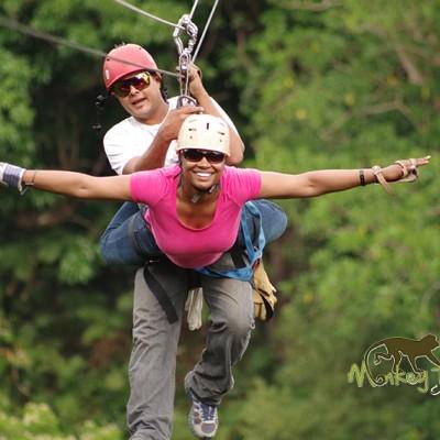amazing Superman Zipline in Nicaragua