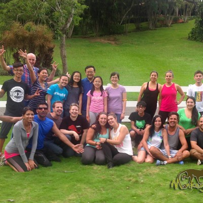 Costa Rica and Nicaragua guided tour group picture at hotel