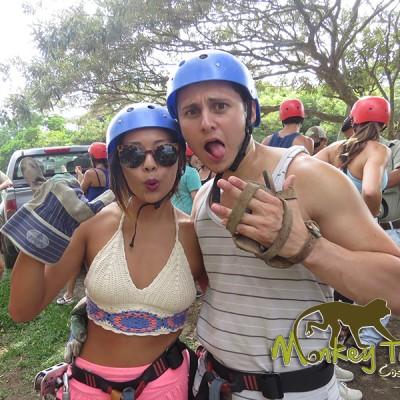Ziplining fun tour in Costa Rica