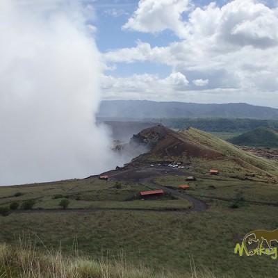 The Masaya Volcano National Park view point