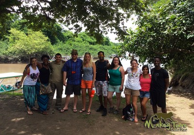 Group boat tour in Palo Verde Guanacaste mangroves