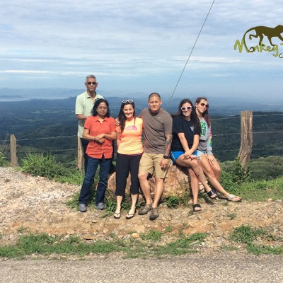 travel group mountains Arenal Lake Costa Rica
