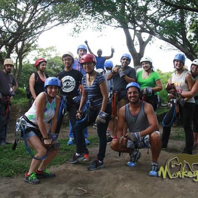 group ziplining adventure tour Guanacaste
